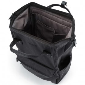 Anello Tas Ransel Kanvas Frosted - Small - Black - 4