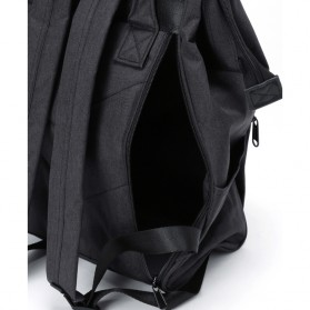 Anello Tas Ransel Kanvas Frosted - Small - Black - 5
