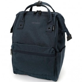 Anello Tas Ransel Kanvas Frosted - Small - Dark Gray