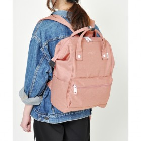 Anello Tas Ransel Kanvas Frosted - Small - Blue - 9
