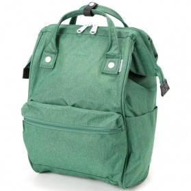 Anello Tas Ransel Kanvas Frosted - Small - Green