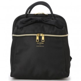 Notebook Bag / Tas Laptop - Anello Kah&Kee Tas Ransel Wanita Model Pita - Black
