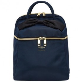 Notebook Bag / Tas Laptop - Anello Kah&Kee Tas Ransel Wanita Model Pita - Dark Blue