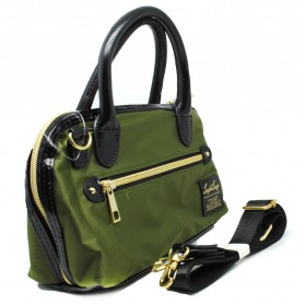 Legato Largo Tas Selempang Boston Nylon - Khaki