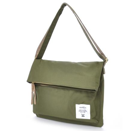 Anello Tas Selempang Folding Bag - Khaki - JakartaNotebook.com 639d471233