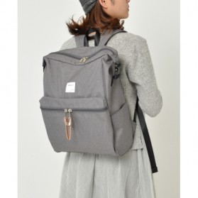 Anello Tas Ransel Selempang 2 Way - Black - 9
