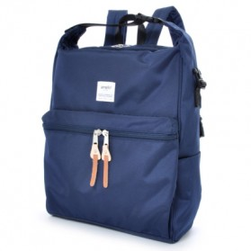 Anello Tas Ransel Selempang 2 Way - Dark Blue - 1