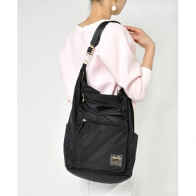 Legato Largo Tas Ransel Selempang Nylon 3 Way - Black - 8