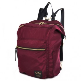 Legato Largo Tas Ransel Selempang Nylon 3 Way - Red