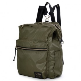 Legato Largo Tas Ransel Selempang Nylon 3 Way - Khaki - 1