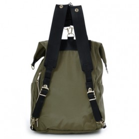 Legato Largo Tas Ransel Selempang Nylon 3 Way - Khaki - 2