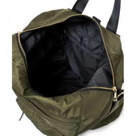 Legato Largo Tas Ransel Selempang Nylon 3 Way - Khaki - 11