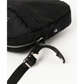 Anello Tas Selempang Light Suit Bag - Black White - 2