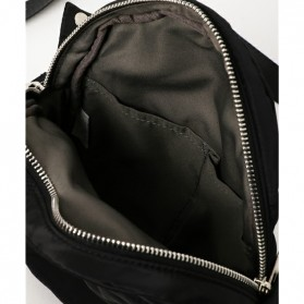 Anello Tas Selempang Light Suit Bag - Black White - 4