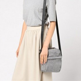 Anello Tas Selempang Light Suit Bag - Black White - 5