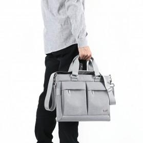 BUBM Tas Selempang Pria Messenger Bag Canvas for Laptop 13.3 Inch - 818 - FXQX-13 - Black - 6