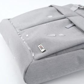 BUBM Tas Selempang Pria Messenger Bag Canvas for Laptop 13.3 Inch - 818 - FXQX-13 - Black - 13
