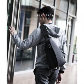 Mark Ryden Tas Selempang Crossbody Bag dengan USB Charger Port - MR5975 - Gray - 4