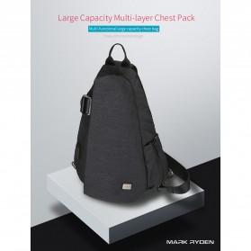 Mark Ryden Tas Selempang Crossbody Bag dengan USB Charger Port - MR5975 - Gray - 5