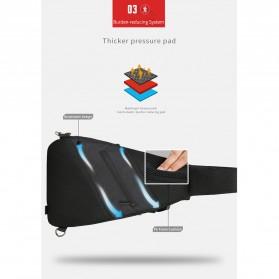 Mark Ryden Tas Selempang Crossbody Bag dengan USB Charger Port - MR5975 - Gray - 8