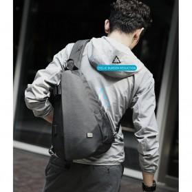 Mark Ryden Tas Selempang Crossbody Bag dengan USB Charger Port - MR5975 - Gray - 9