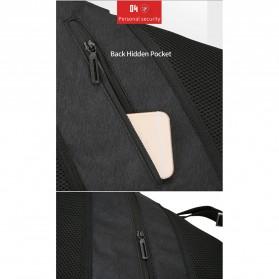 Mark Ryden Tas Selempang Crossbody Bag dengan USB Charger Port - MR5975 - Gray - 10