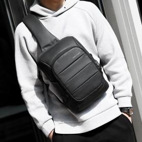 Mark Ryden Tas Selempang Crossbody Bag dengan USB Charger Port - MR-P9084 - Black - 6