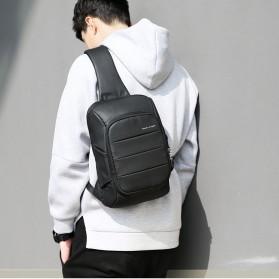 Mark Ryden Tas Selempang Crossbody Bag dengan USB Charger Port - MR-P9084 - Black - 8