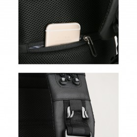 Mark Ryden Tas Selempang Crossbody Bag dengan USB Charger Port - MR-P9084 - Black - 10