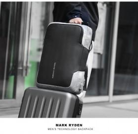 Mark Ryden Tas Ransel Laptop dengan USB Charger Port - MR6960 - Black - 4