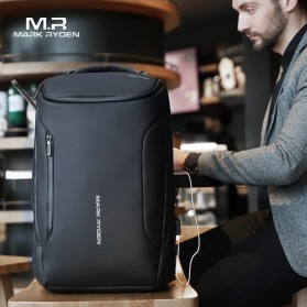 Mark Ryden Tas Ransel Laptop dengan USB Charger Port - MR9031 - Black