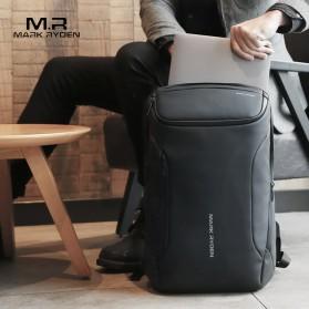 Mark Ryden Tas Ransel Laptop dengan USB Charger Port - MR9031 - Black - 2