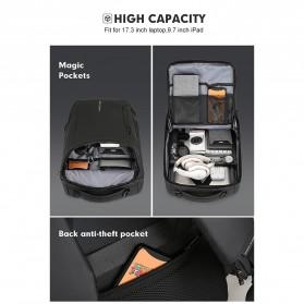 Mark Ryden Tas Ransel Laptop dengan USB Charger Port - MR9031 - Black - 9