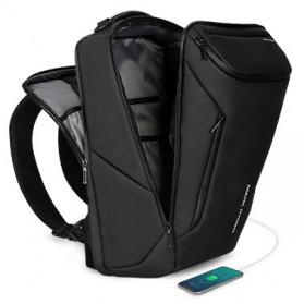 Mark Ryden Tas Ransel Laptop dengan USB Charger Port Upgrade Version - MR9031 - Black