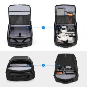 Mark Ryden Tas Ransel Laptop dengan USB Charger Port Upgrade Version - MR9031 - Black - 5