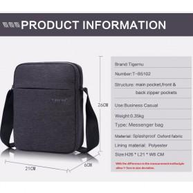 Tigernu Tas Selempang Crossbody Messenger Bag Pria - T-L5102 - Black - 8