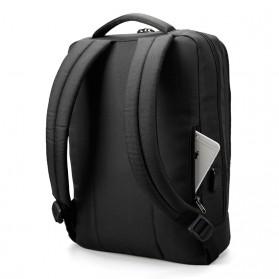 Tigernu Tas Ransel Laptop Bisnis dengan USB Charger Port - T-B3331 - Black - 3