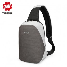 Tigernu Tas Selempang Crossbody Sling Bag Anti Maling - T-S8061 - Gray