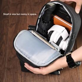 Tigernu Tas Selempang Crossbody Sling Bag Anti Maling - T-S8061 - Gray - 3