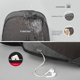 Tigernu Tas Selempang Crossbody Sling Bag Anti Maling - T-S8061 - Gray - 4