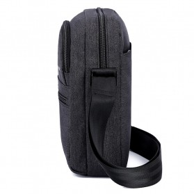 Tigernu Tas Selempang Crossbody Messenger Bag Pria - T-L5105 - Black - 6