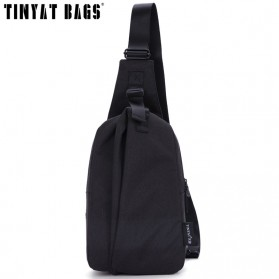 TINYAT Tas Selempang Sling Bag Cross Body Messenger - T610 - Black