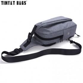 TINYAT Tas Selempang Sling Bag Crossbody Messenger - T610 - Dark Gray - 5