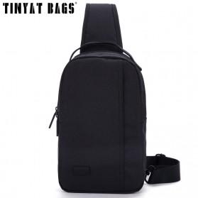 TINYAT Tas Selempang Sling Bag Crossbody Messenger - T608 - Black