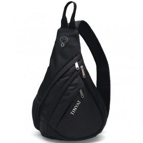 TINYAT Tas Selempang Sling Bag Cross Body Messenger - T509 - Black