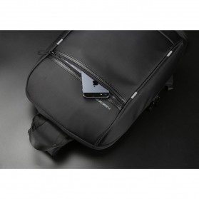 Kingsons Tas Selempang Crossbody Bag dengan USB Charger Port - KS3165W - Black - 10