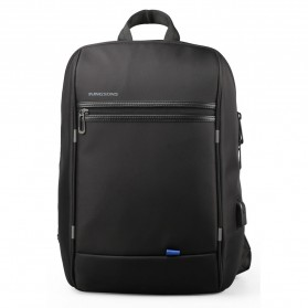 Kingsons Tas Selempang Crossbody Bag dengan USB Charger Port - KS3165W - Black - 2