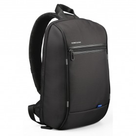 Kingsons Tas Selempang Crossbody Bag dengan USB Charger Port - KS3165W - Black - 3