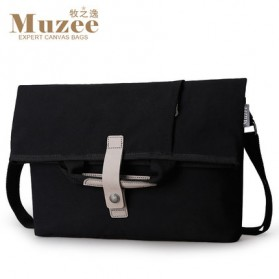 MUZEE Tas Selempang Messenger Bag - ME-1125 (backup) - Black - 1