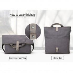 MUZEE Tas Selempang Messenger Bag - ME-1125 (backup) - Black - 3